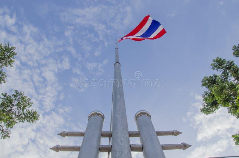 Bandera tailandesa nacional foto de archivo