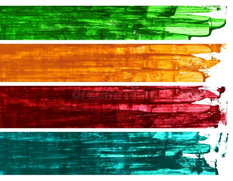 Banderas foto de archivo libre de regalías