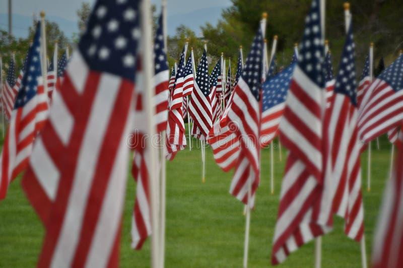 1000 banderas fotografía de archivo libre de regalías