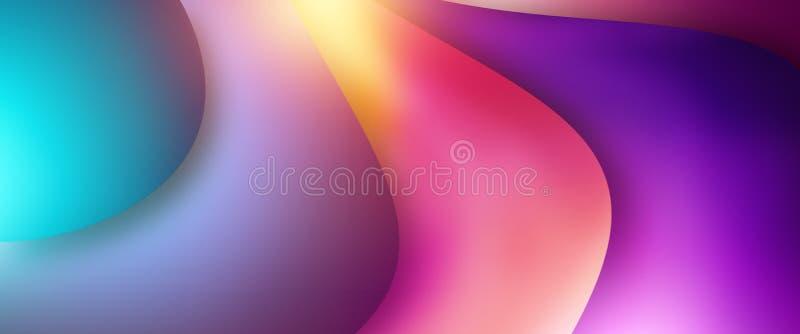 Banderas creativas del promo del diseño, diseño ultravioleta, venta caliente, descuentos bandera, espacio de la copia Maqueta, av libre illustration