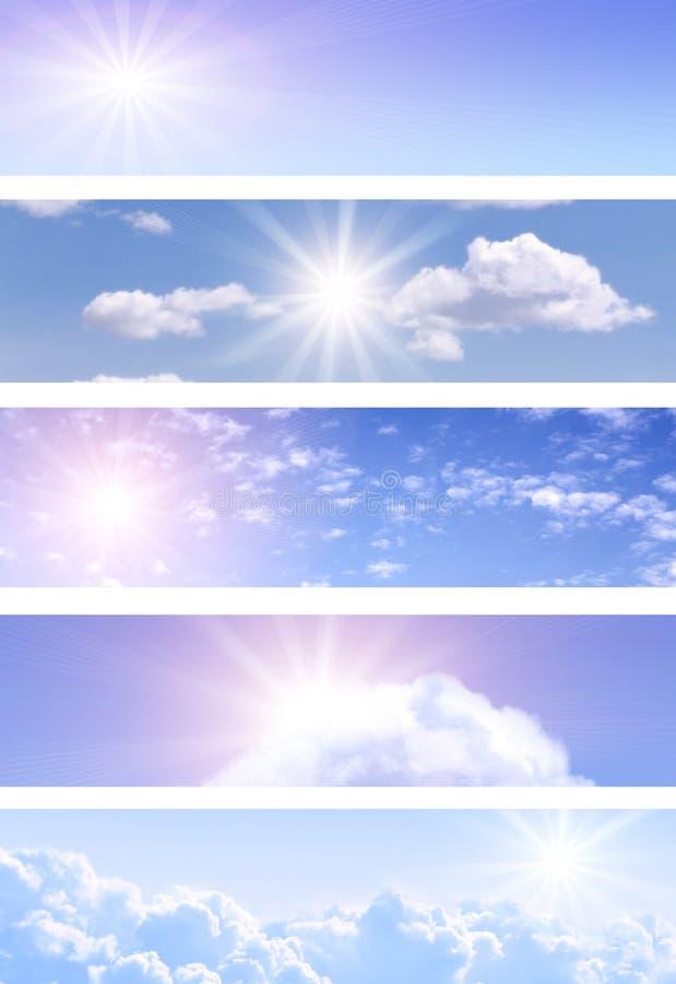 Banderas del cielo libre illustration