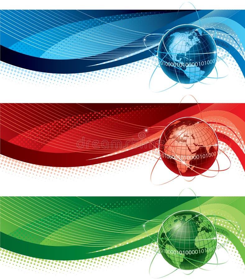 Banderas del globo libre illustration