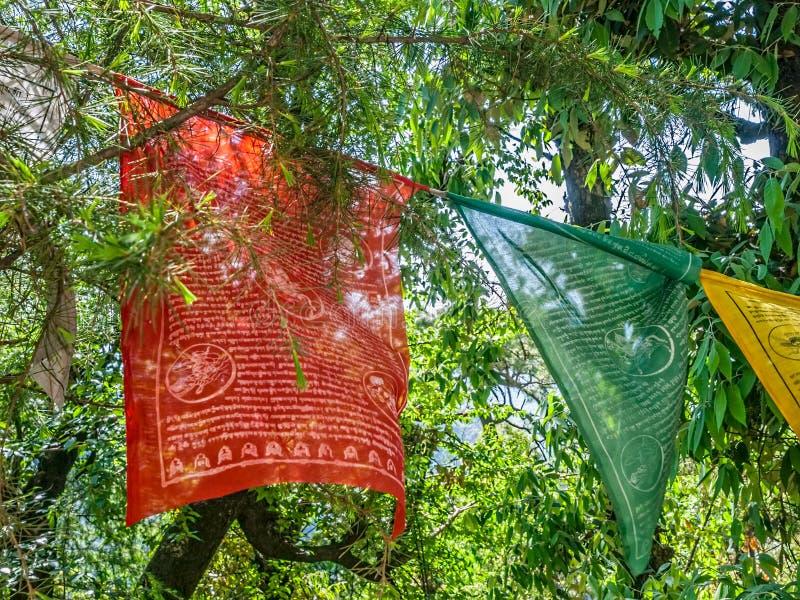 Banderas del rezo imagen de archivo libre de regalías