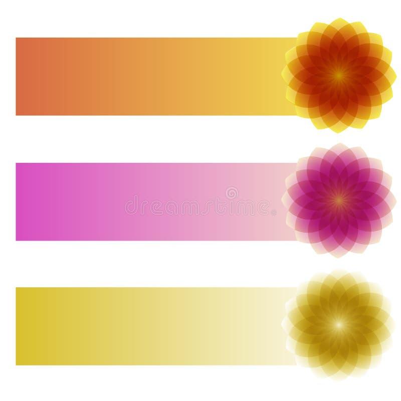 Banderas horizontales fotos de archivo libres de regalías