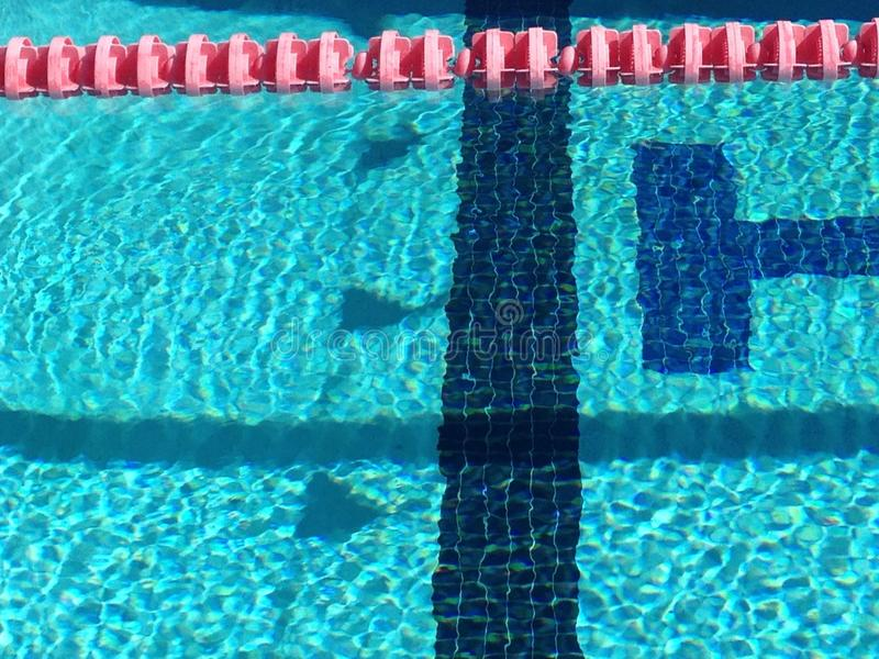 Banderas reflectoras foto de archivo libre de regalías