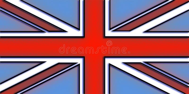 bandery europejskiej jacka ilustracja wektor