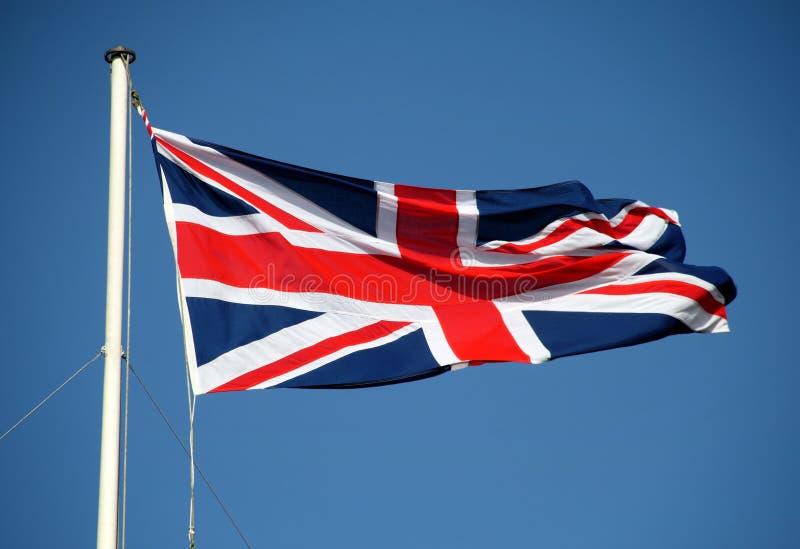 bandery europejskiej latający lewarek wiatr zdjęcie royalty free