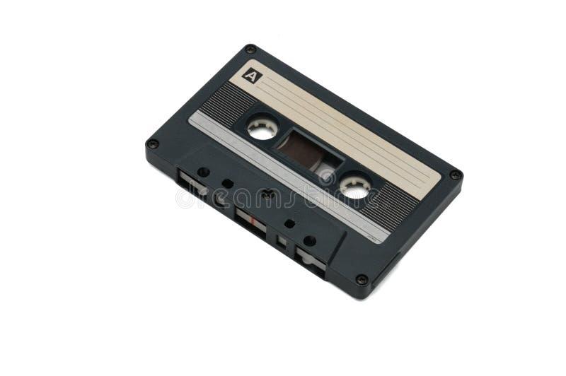 Bandes audio compactes pour l'enregistrement magnétique sur un fond blanc Cassettte compact image libre de droits