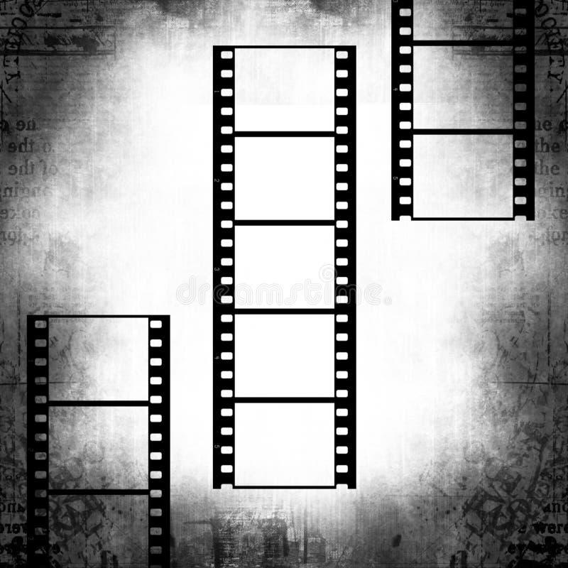 Bandes de film illustration stock