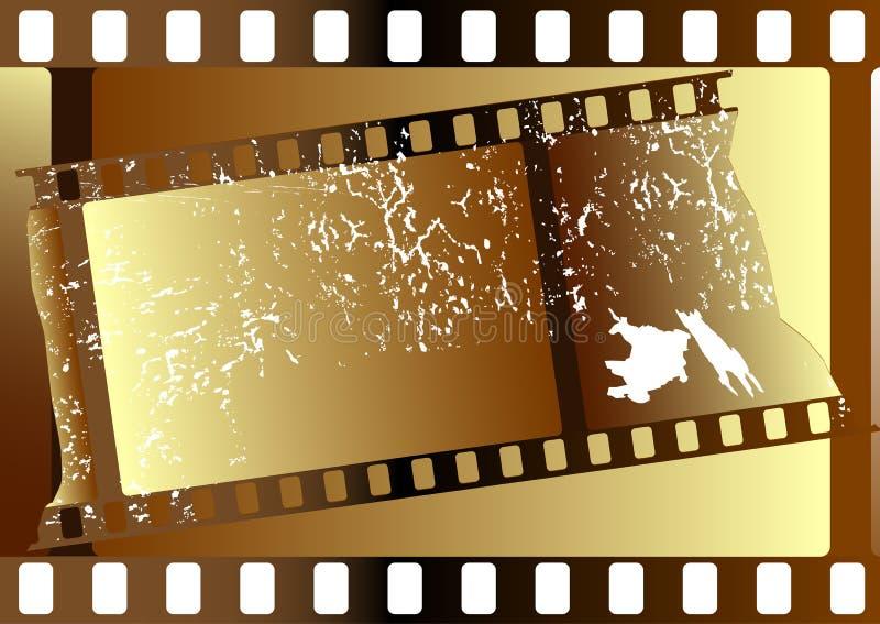 Bandes de film (vecteur) illustration stock