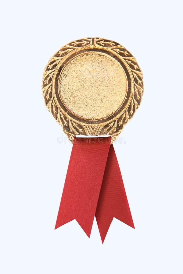 Bandes de récompense d'or photos libres de droits