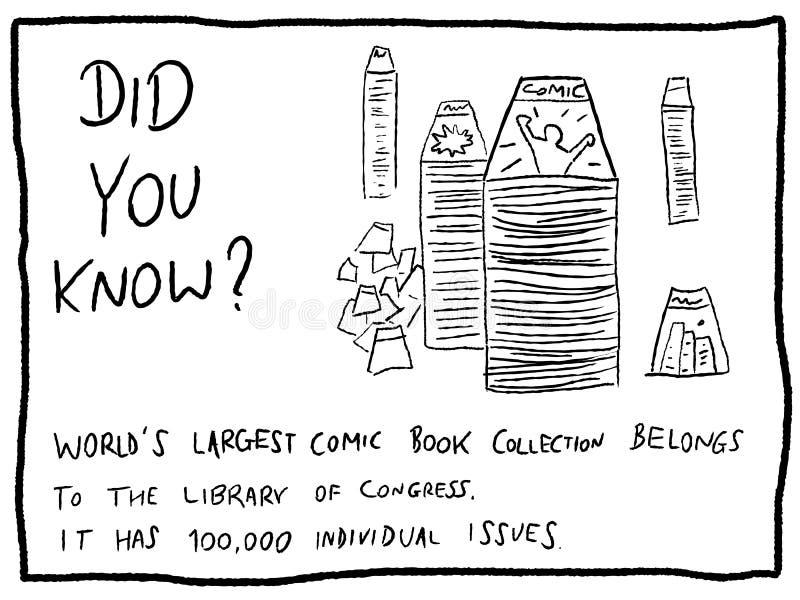 Bandes dessinées illustration libre de droits