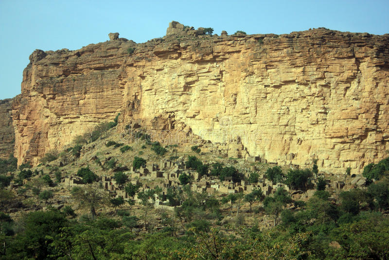 bandiagara escarpment fotografia royalty free