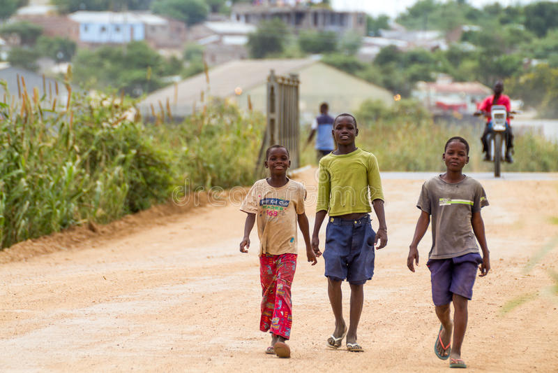Bandidos de Moçambique foto de stock