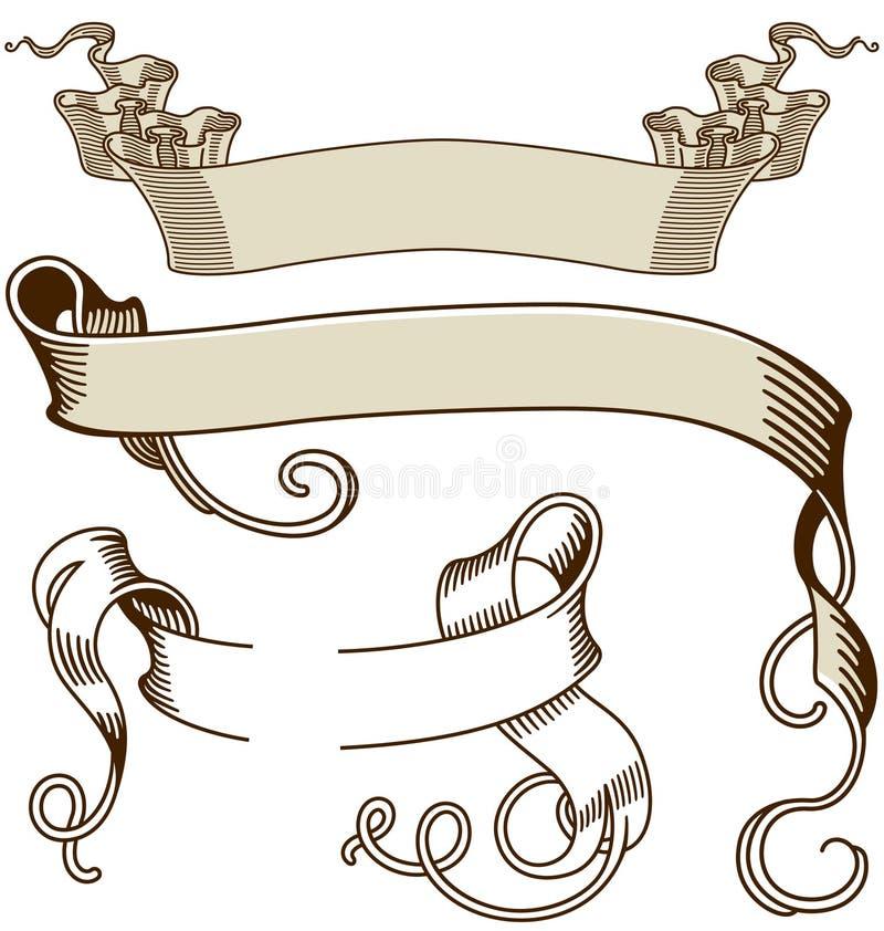 Bandiera 01 illustrazione vettoriale