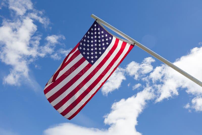 Bandiera americana immagine stock