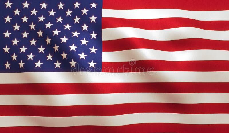 Bandiera americana U.S.A. fotografia stock