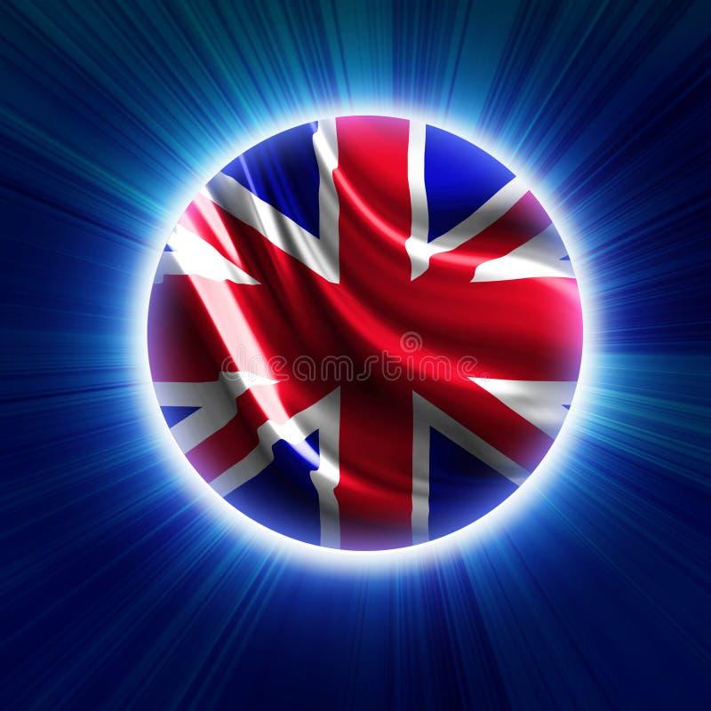 Bandiera BRITANNICA royalty illustrazione gratis