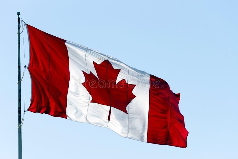 Bandiera canadese Canada fotografia stock libera da diritti