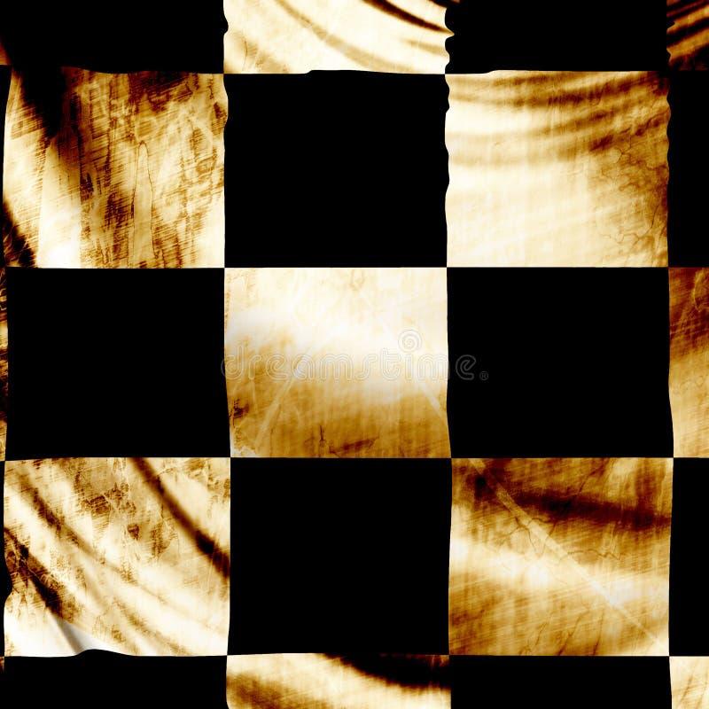 Bandiera Checkered royalty illustrazione gratis