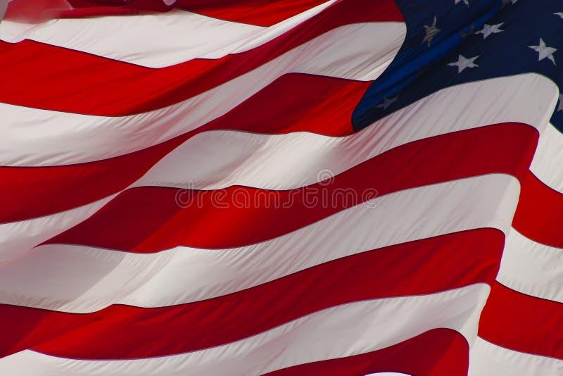 Bandiera degli S.U.A.  fotografie stock libere da diritti