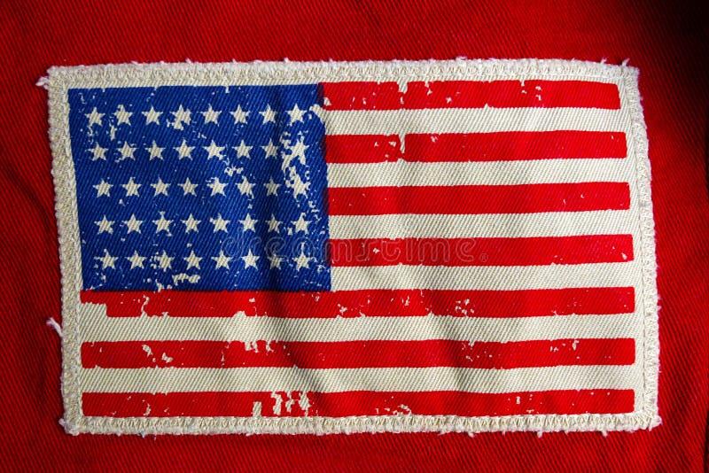 Bandiera degli Stati Uniti fotografie stock libere da diritti