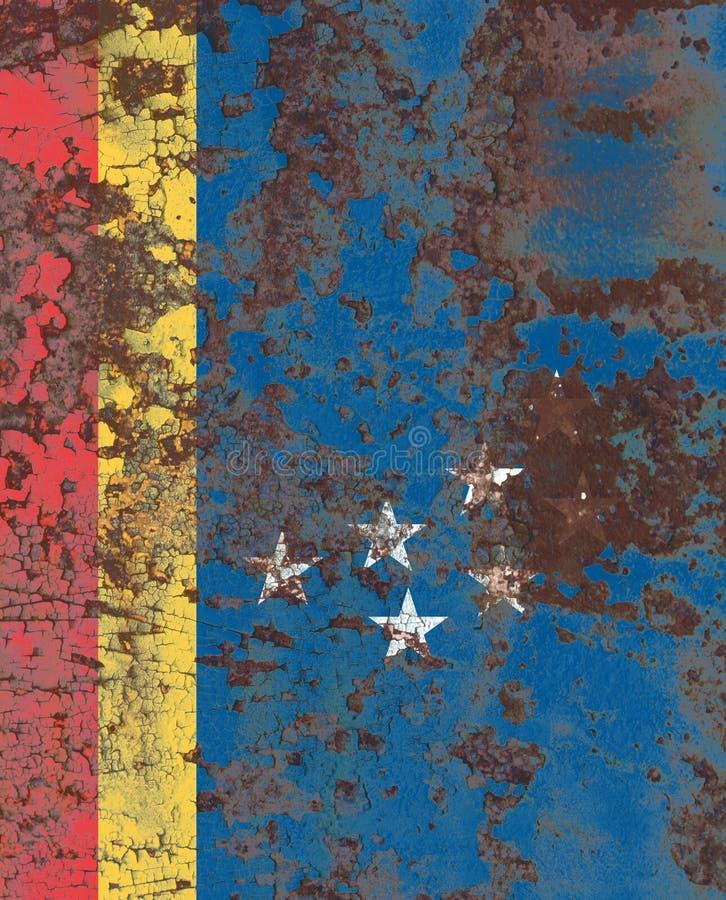 Bandiera del fumo della città di Durham, Carolina State del nord, Stati Uniti di A immagini stock
