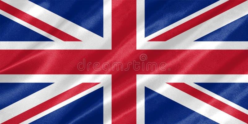 Bandiera del Regno Unito illustrazione vettoriale