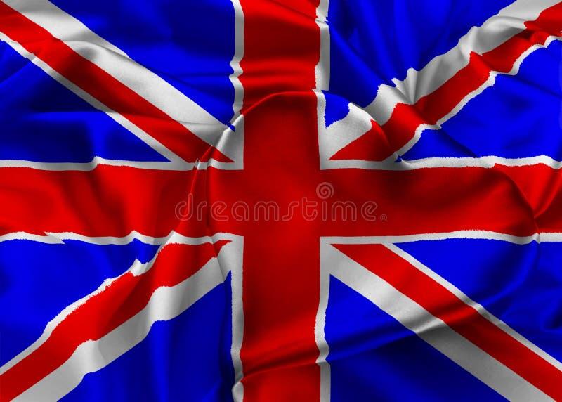 Bandiera del Regno Unito, Londra royalty illustrazione gratis