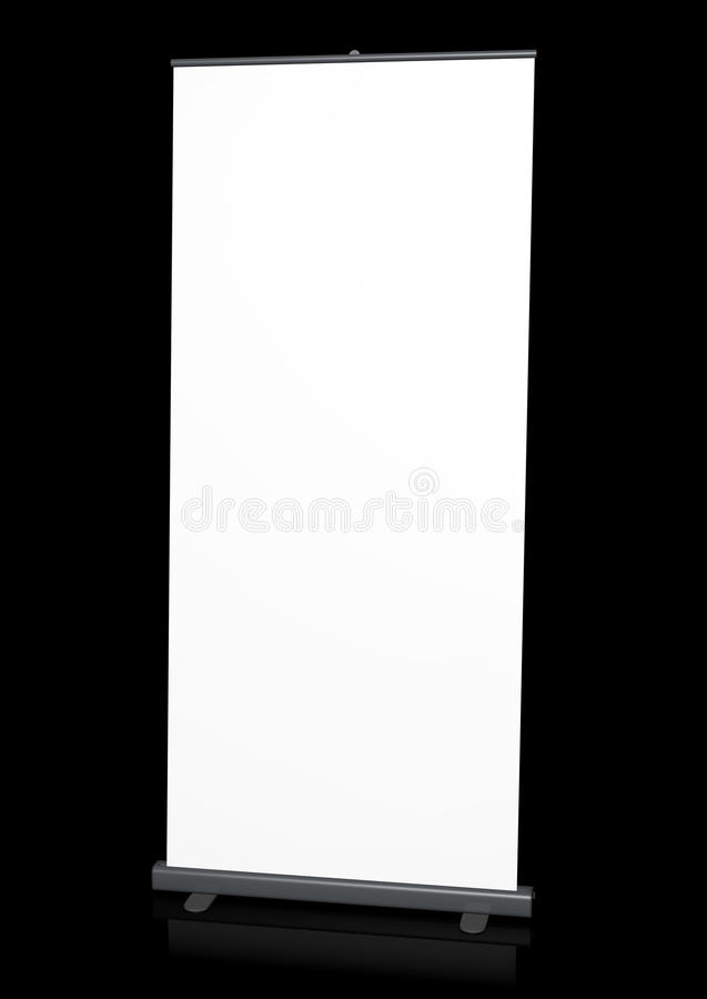 Bandiera del Roll-up royalty illustrazione gratis