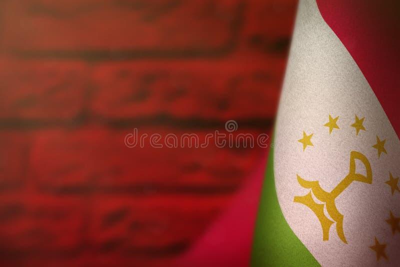 Bandiera del Tagikistan per l'onore della giornata dei veterani o del Giorno dei Caduti Gloria agli eroi del Tagikistan del conce royalty illustrazione gratis