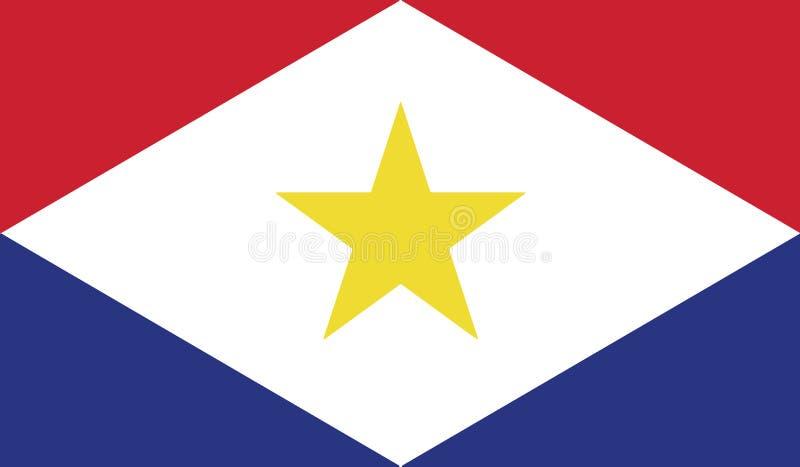 Bandiera dell'illustrazione dell'icona di saba fotografie stock libere da diritti