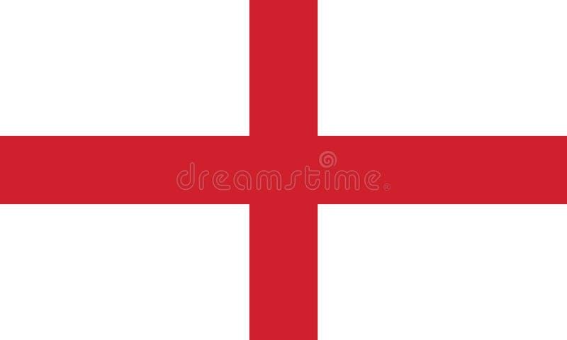 Bandiera dell'inglese fotografia stock