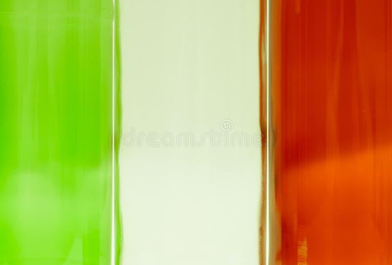 Bandiera della bandiera nazionale dell'italiano dell'Italia fotografie stock