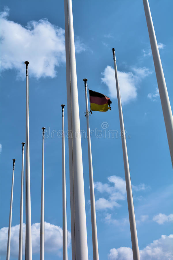 Bandiera della germania a berlino fotografia stock - Bandiera della pagina di colorazione della germania ...