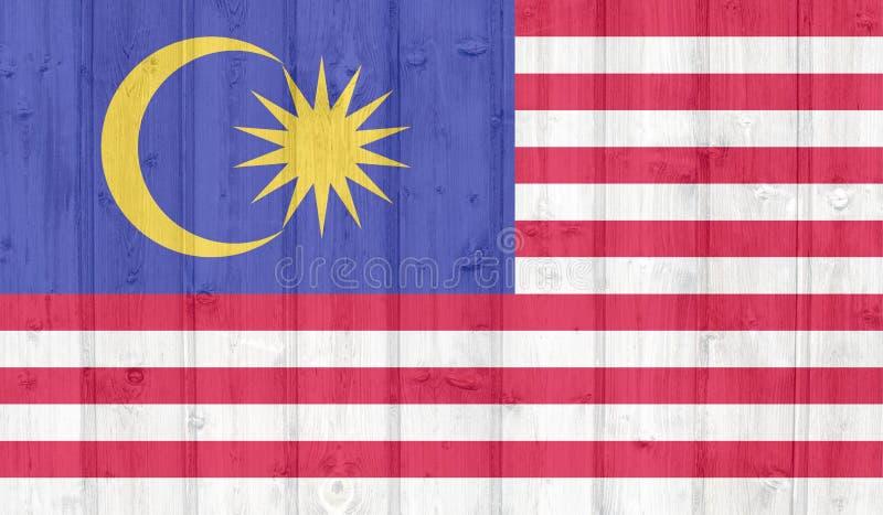Bandiera della Malesia di lerciume immagine stock