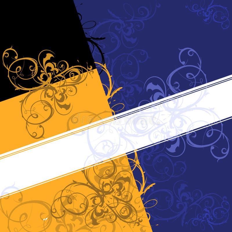 Bandiera della priorità bassa del rotolo. royalty illustrazione gratis