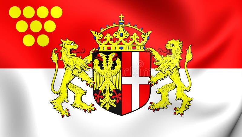Bandiera della renania settentrionale vestfalia della - Bandiera della pagina di colorazione della germania ...