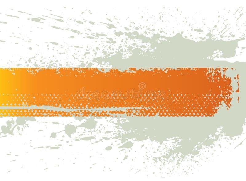 Bandiera della spruzzata di Grunge illustrazione vettoriale