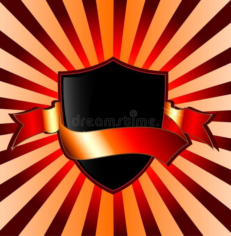 Bandiera dello schermo illustrazione vettoriale