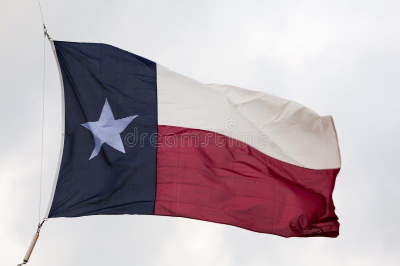 Bandiera dello stato del Texas fotografie stock