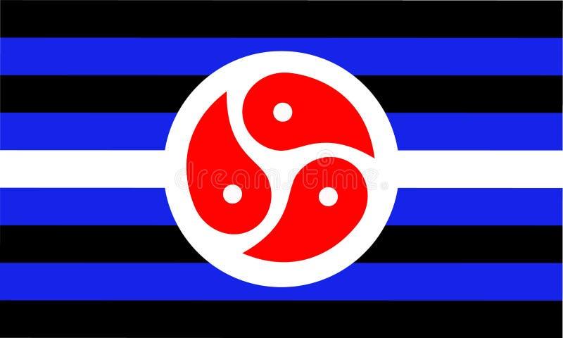 Bandiera di BDSM - una delle comunità di un feticcio del sesso firma royalty illustrazione gratis