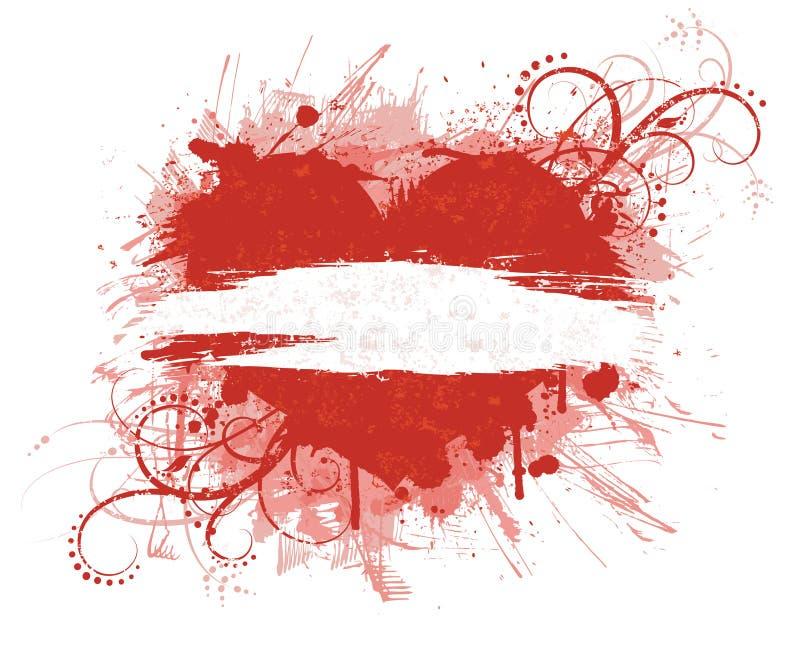 Bandiera di giorno del biglietto di S. Valentino. illustrazione vettoriale