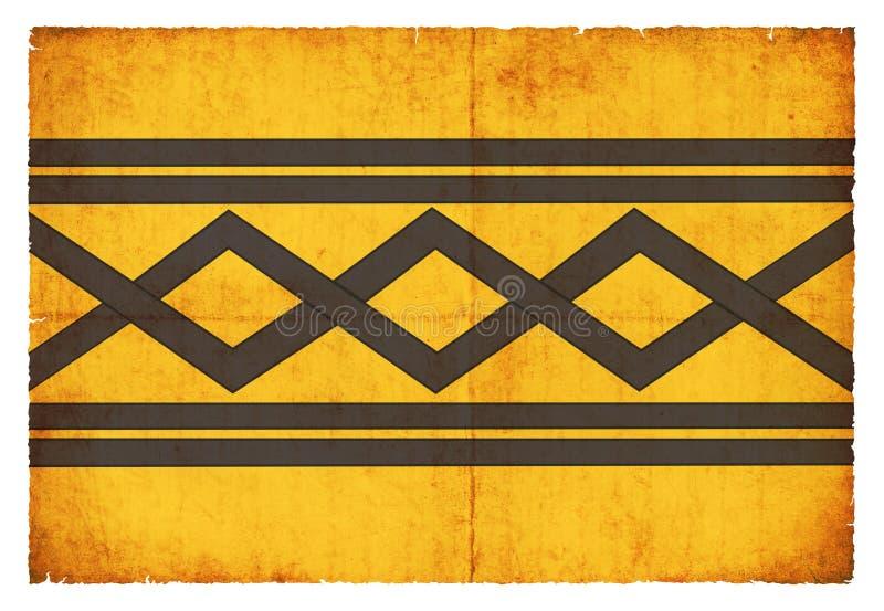 Bandiera di lerciume della West Midlands Gran Bretagna fotografia stock