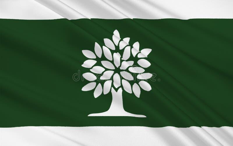 Bandiera di Londra Ontario, Canada fotografia stock