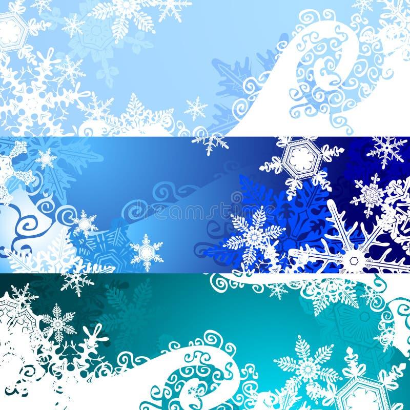 Bandiera di natale illustrazione vettoriale