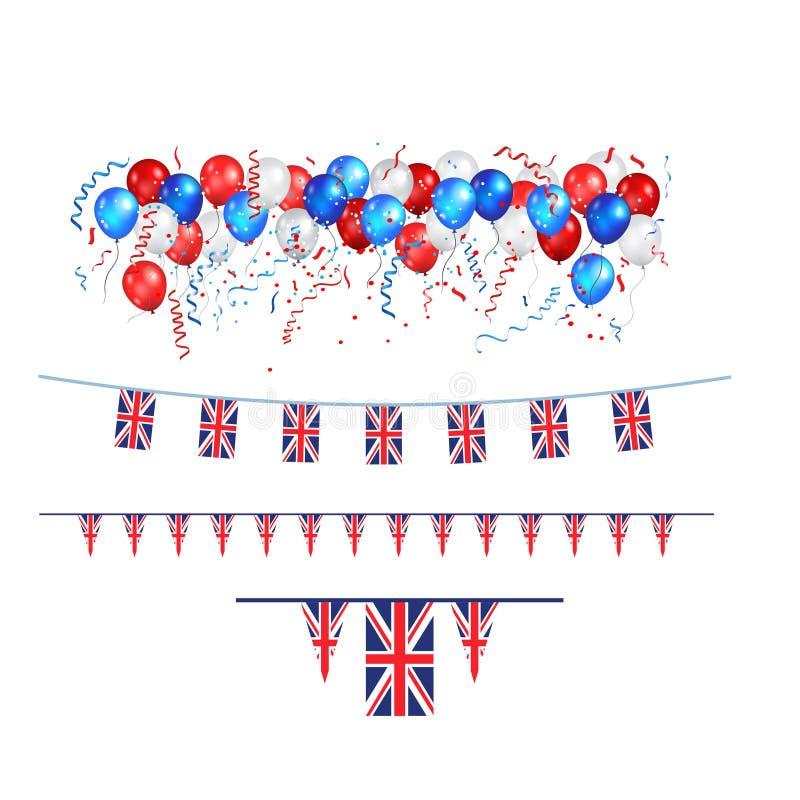 Download Bandiera Di Union Jack Della Decorazione Illustrazione Vettoriale - Illustrazione di disegno, celebrazione: 117978214