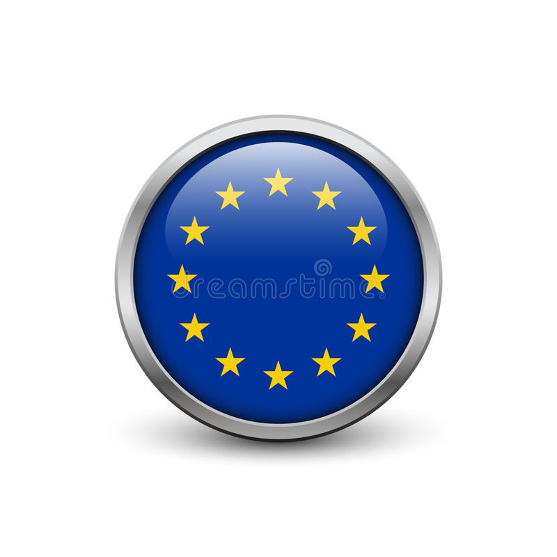 Bandiera di Unione Europea royalty illustrazione gratis
