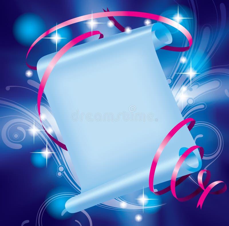 Bandiera leggiadramente royalty illustrazione gratis