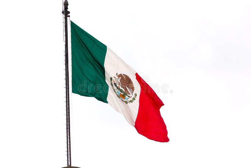 Bandiera messicana fotografie stock libere da diritti
